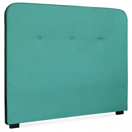 Tête de lit Scandinave Kirstyn 140cm Tissu Vert