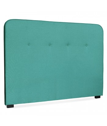 Tête de lit Scandinave Kirstyn 160cm Tissu Vert