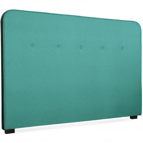 Tête de lit Scandinave Kirstyn 180cm Tissu Vert pas cher