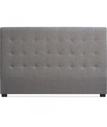 Tête de lit Matelassée 180cm Tissu Taupe
