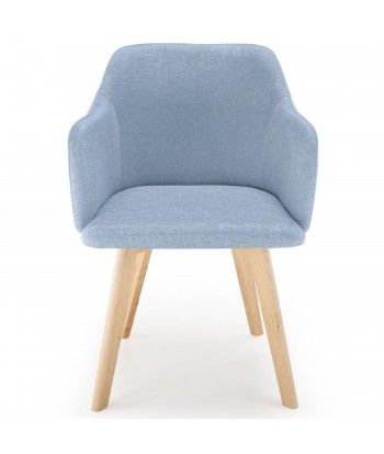 Chaise Scandinave Bleu Pas CherDesign Deco Nordique 2D9YIHEW