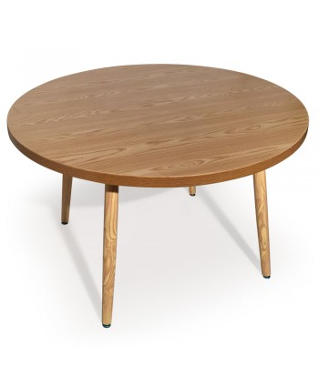 Table ronde scandinave Jones Frêne