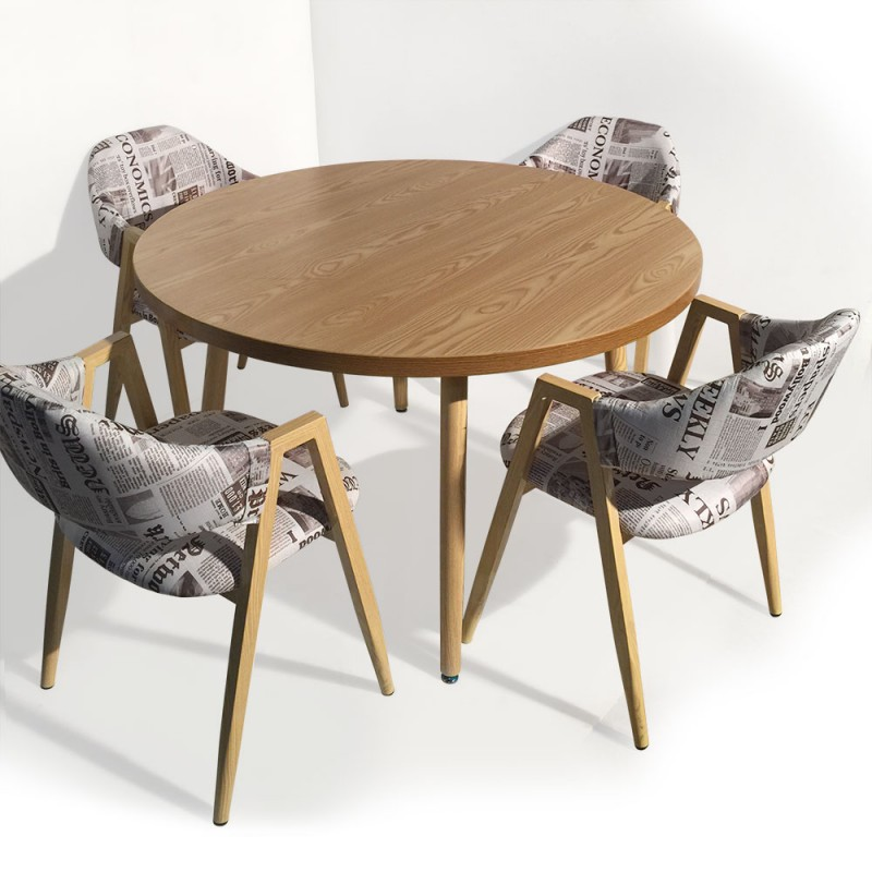 table ronde scandinave jones fr ne pas cher scandinave deco. Black Bedroom Furniture Sets. Home Design Ideas