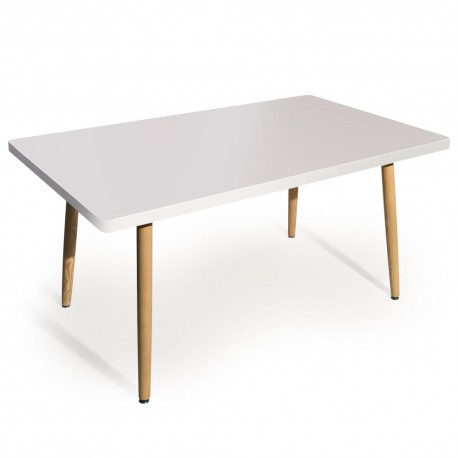 Scandinave Table Jones Blanc Rectangulaire DH2WIE9