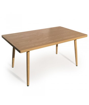 Table rectangulaire scandinave Jones Frêne pas cher