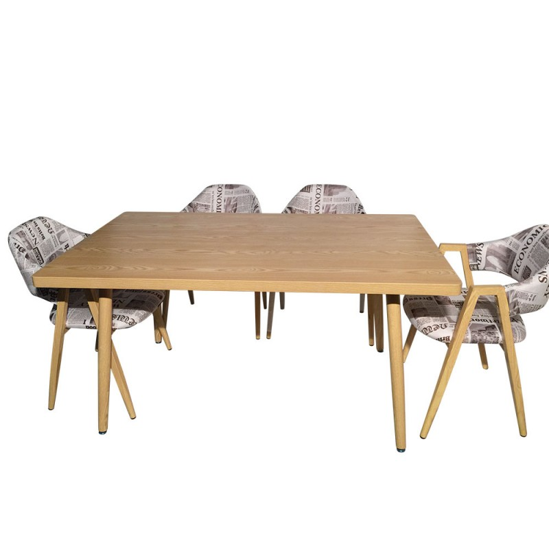 table rectangulaire scandinave jones fr ne pas cher. Black Bedroom Furniture Sets. Home Design Ideas