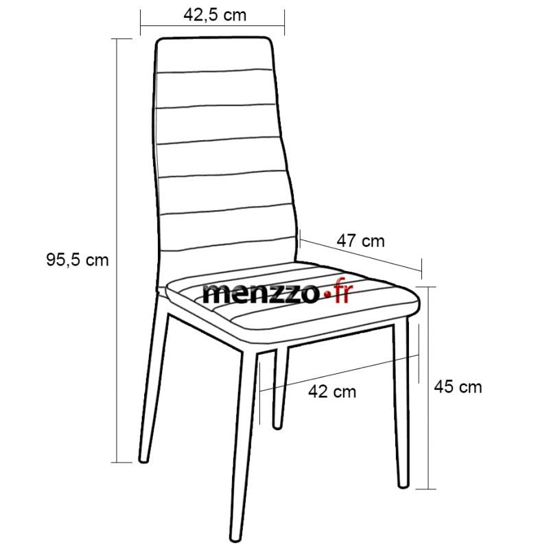 chaises scandinave elsa tissu vert lot de 4 pas cher scandinave deco. Black Bedroom Furniture Sets. Home Design Ideas