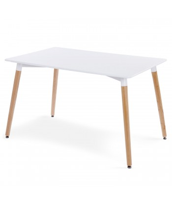 Table scandinave Blanc Design