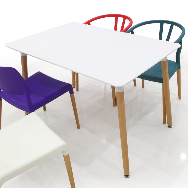 Table Scandinave Blanc Design Pas Cher Scandinave Deco