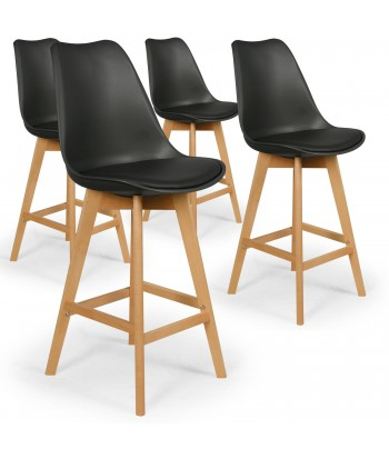 tabouret de bar scandinave et chaise de bar pas cher. Black Bedroom Furniture Sets. Home Design Ideas