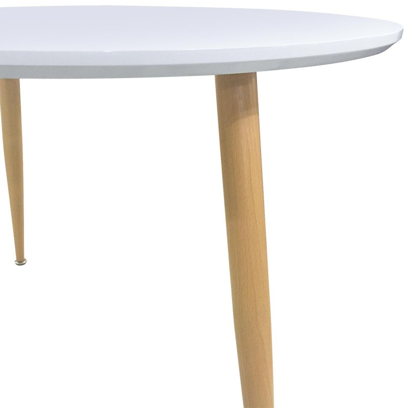 Table Laque Blanc Fly Conceptions De Maison