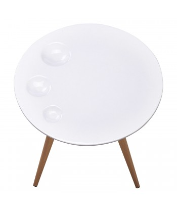 Table d'appoint scandinave Blanc