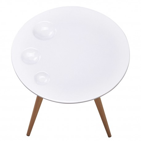 Table D Appoint Scandinave Blanc Pas Cher Scandinave Deco