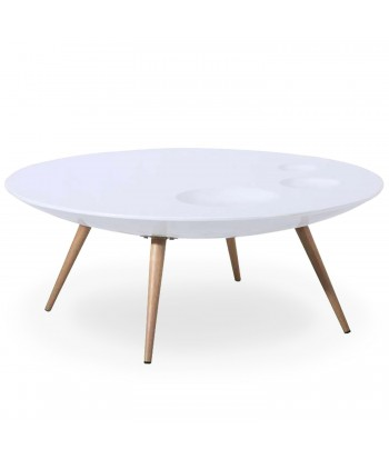 Table basse scandinave Blanc