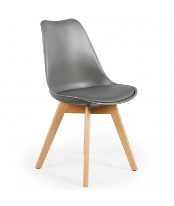 Chaise scandinave pas cher style et design nordique for Chaise scandinave cuir