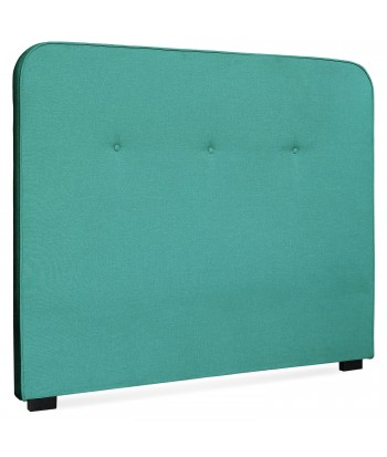 Tête de lit Scandinave Kirstyn 140cm Tissu Vert pas cher