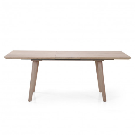 Table extensible scandinave Chêne clair