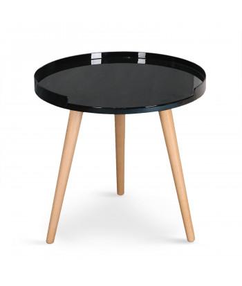 Table Basse Consol Noir pas cher