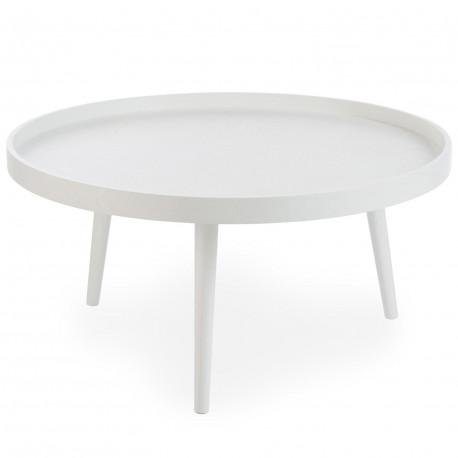 table basse scandinave ronde blanche pas cher scandinave. Black Bedroom Furniture Sets. Home Design Ideas