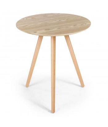 Table basse scandinave bois clair pas cher