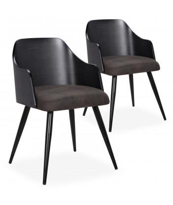 Chaise scandinave pas cher style et design nordique scandinave deco - Chaises salle a manger bois et tissu ...