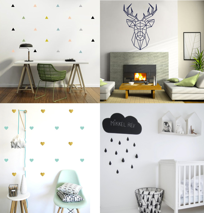 stickers a motifs scandinaves